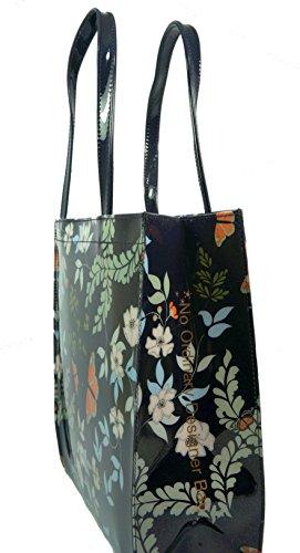 Gardens Ted Janecon Shopper Icon Bag Large Baker Blue Kyoto qtUwxn0art