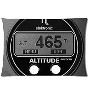 Flight Indicator&Attitude Gyro Background Comfortable Cotton&Polyester Pillowcase/Pillow slip/Cushion case/pillow cover(Two Side Printing,30inch*20inch)