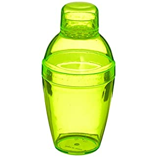 Fineline Settings Plastic Cocktail 7 oz   Yellow   Quenchers   1 Piece Shakers