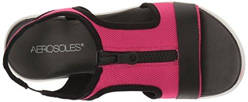 para Aerosoles Mujer Pink Sandalias Fabric Rosado Planas qABBaEwx8S