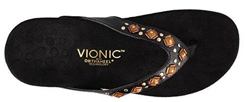 Sandals Floriana Womens Noir Synthetic Vionic 340 0EvxqUI