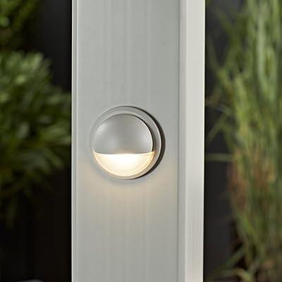 LED Post Lamp- Classic White, WTLAMPLEDC