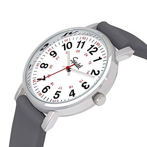 Speidel Original Scrub Watch – Medical Scrub Colors, Easy Read Dial, Second Hand, Water Resistant