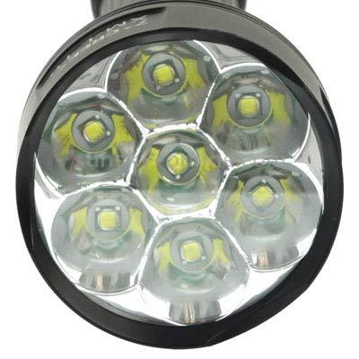 KANEED LED-Taschenlampe, LED-Taschenlampe, LED-Taschenlampe, TrustFire TR-J18 LED-Taschenlampe, 5 Modi, 7x Cree XM-L T6, Lichtstrom  8000lm, Länge  24,5 30,5 cm B07NVGDWGM | Modern  94fe12