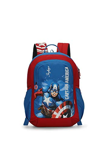 Skybags Marvel Champ 11 18 Ltrs Blue Casual Backpack (Marvel Champ 11)