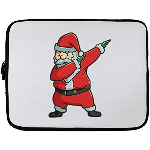 Amazon Santa Claus Laptop Sleeves Neoprene Zipper Case Christmas Tree Stocking Stuffer Gifts Costume 13 Inch Computers Accessories