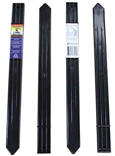 Beach N Sand Stake 4 Pack 24.5in x .625in x 2in Super Tough No Rust Tent Portable Canopy Stake (Super Stake)