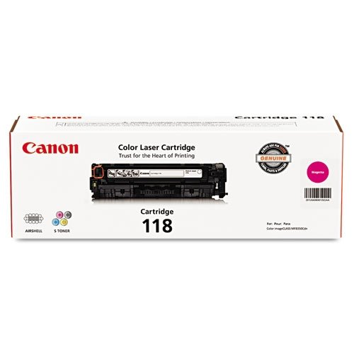 Canon Original 118 Toner Cartridge - Magenta 110 Laser Toner Cartridge
