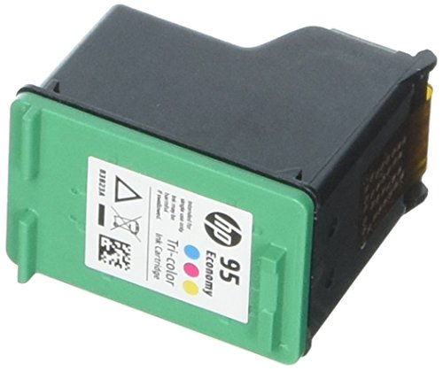 HP 95 Ink Cartridge Tri-color Economy (B3B23AN) for HP Deskjet 460 2575 C4150 C4180 6830 6840 9800 HP Officejet 100 150 6940 6988 H470 7210 7310 7410 - One Hp All Toner In 7210