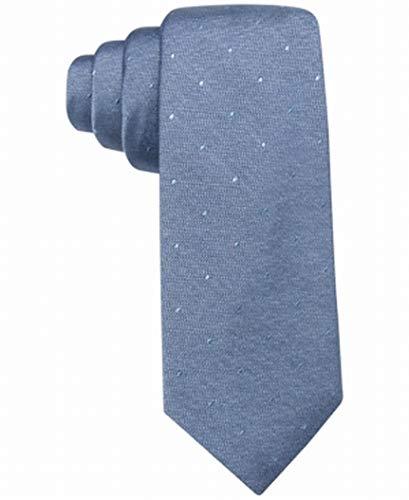 Silk Blue Tonal Tie (Ryan Seacrest Mens Napa Tonal Silk Pindot Neck Tie Navy O/S)