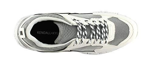 Sneaker amp;Kylie White Kendall Fabric KKFOCUS2 Multi B warw7q5p