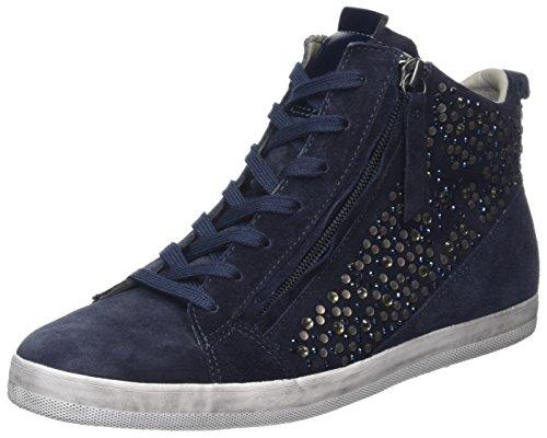 Altas Gabor Shoes Azul Comfort Zapatillas Ocean Strass Mujer qwUtw
