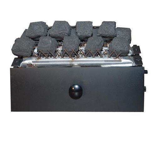 Alterna C9B-SE-P 16 1/2 in. Non Variable Coal Fire Burner Needs Remote LP by Alterna