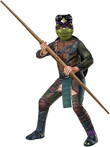 [Rubies Teenage Mutant Ninja Turtles Child Donatello Costume, Small] (Ninja Zombie Costumes Child)