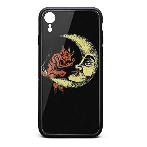 Compatible iPhone XR Case Tempered Glass Pan's-Labyrinth-(19)- Shock Absorbent Skid-Proof Slim TPU Protective Case for iPhone XR 6.1 Inch