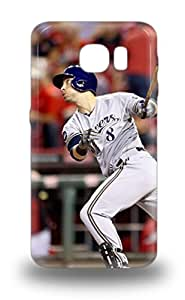 Durable 3D PC Case For The Galaxy S6 Eco Friendly Retail Packaging MLB Milwaukee Brewers Ryan Braun #8 ( Custom Picture iPhone 6, iPhone 6 PLUS, iPhone 5, iPhone 5S, iPhone 5C, iPhone 4, iPhone 4S,Galaxy S6,Galaxy S5,Galaxy S4,Galaxy S3,Note 3,iPad Mini-Mini 2,iPad Air )
