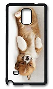 Adorable cute puppy sleep Hard Case Protective Shell Cell Phone For Case Samsung Galaxy S4 I9500 Cover