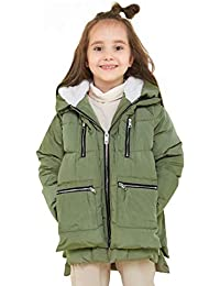 Children Hooded Down Coat Girls Quilted Puffer Jacket Boys Winter Jackets
