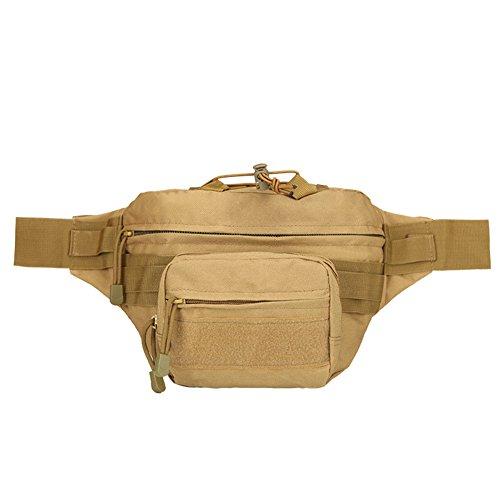 Outdoor Camouflage Taille Tasche Sport Tactical Rucksack Camping Wandern Klettern Tasche Camouflage1 sqllhz