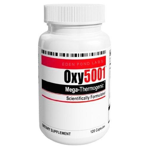 Oxy5001 Mega supplément thermogénique de perte de poids de 120 Capsules