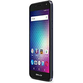 "BLU Life Max - 5.5"" 4G LTE GSM Unlocked - 16GB+2GB RAM w/ Fingerprint Sensor, 3700 mAh Battery -Blue"