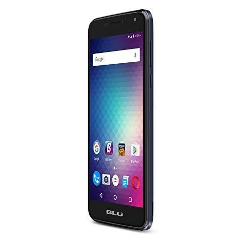 Blu - Life Max 4g With 16gb Memory Cell Phone  - Dark Blue