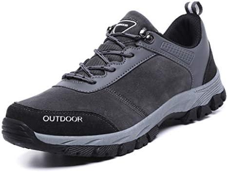 登山靴 アウトドアシューズ トレッキングシューズ メンズ 通気性 防滑 ローカット ハイキングシューズ メンズ 幅広 冬靴 通勤 疲れにくい スニーカー靴 ウォーキング 26.0cm ハイキング 軽量 グレー 耐摩耗性 マーチンブーツ