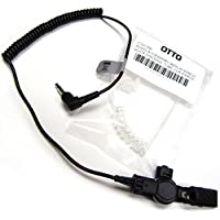OTTO Brand 3.5mm Listen Only Earpiece with Acoustic Audio Tube