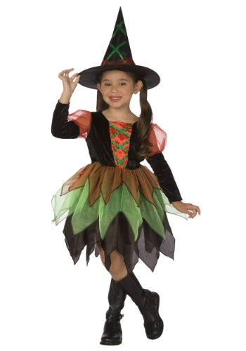 Witch Kids Costume (Hocus Pocus Witch Childrens Costume)