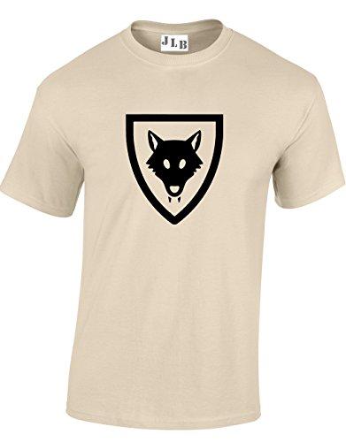 Ispirati Wolfpack E Naturale Top Qualita Coat Mattoni Ragazzi Jlb shirt Arms Taglio T Of Per Uomini Con Print Regolare Ottima 5qwTY