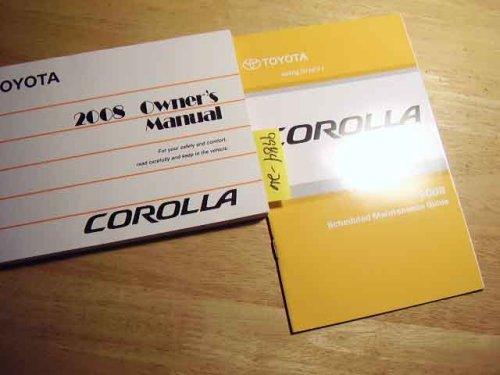 2008 Toyota Corolla Owners Manual