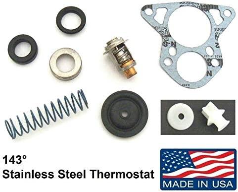 Brass  Johnson//Evinrude 150-235hp Thermostat Kit 143