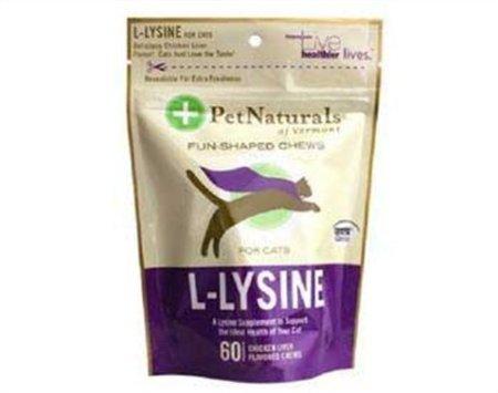 Pet Naturals of Vermont L-Lysine Chews for Cats 6 Pack, My Pet Supplies
