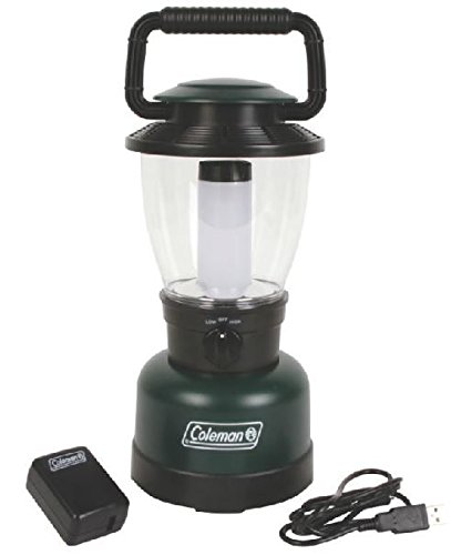 Coleman Rugged Rechargeable 400L LED Lantern, Li-Ion, Green / Black