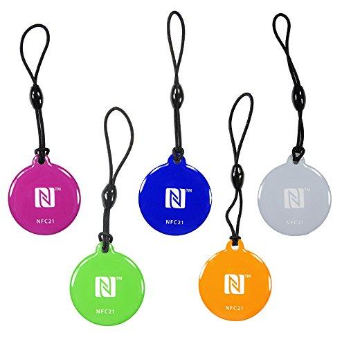 NFC21 68323 NFC Anhänger Style Topaz 512 / 5 Stück/ 5 Farben