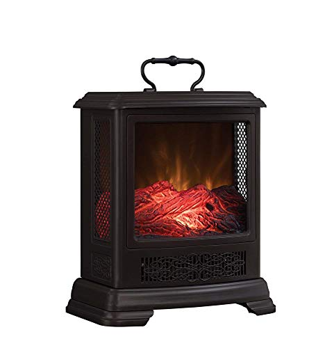(Duraflame Electric DFS-7515-02 Fireplace Stove Heater, Bronze)