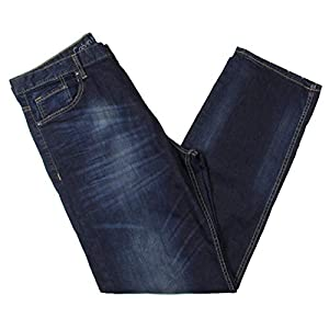 Calvin Klein Men's Relaxed Straight Relaxed Fit  Denim Jeans