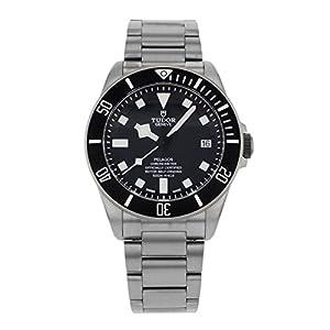 410dnbJZx2L. SS300  - Tudor Pelagos Black Dial Titanium Mens Watch 25600TN-BKTI