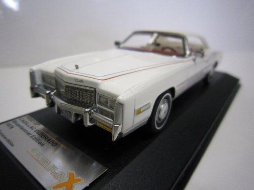 1/43 キャデラック エルドラド クローズド・コンバーチブル 1976(建国200周年記念モデル)ホワイト PR001SP