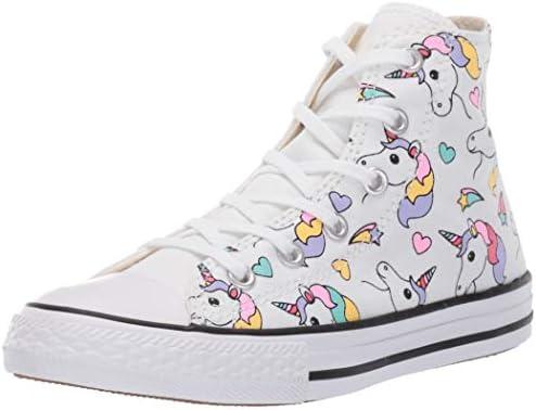 Star Unicorn Print High Top Sneaker