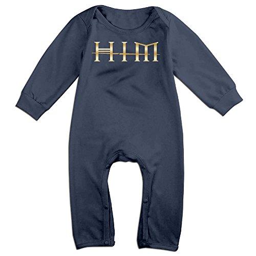his-infernal-majesty-gold-logo-newborn-baby-girls-boys-romper