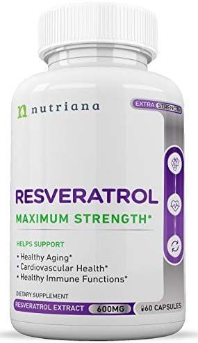 Best Resveratrol Antioxidant Supplement Cardiovascular product image