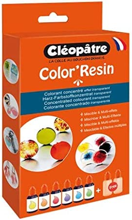 Cléopâtre - COL15x6 - ColorResin - Colorante para Resina, 6 ...