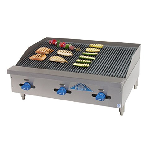 (Comstock Castle 3248RB Castle Series Countertop Gas Radiant Char Broiler)