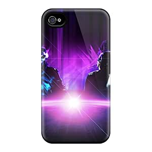 Best Hard Cell-phone Cases For Iphone 5/5s With Support Your Personal Customized Vivid Daft Punk Skin Marycase88