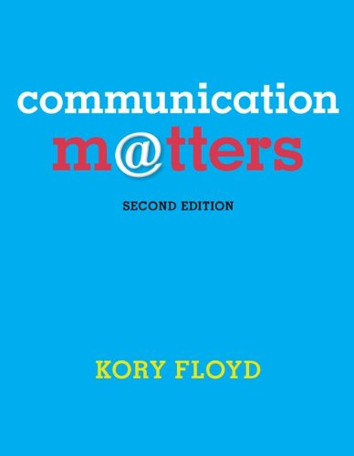 Communication Matters - Standalone book