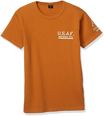 Tシャツ U.S.A.F.FLYING WING AIRCRAFT WAFFLE TEE 6103412 メンズ