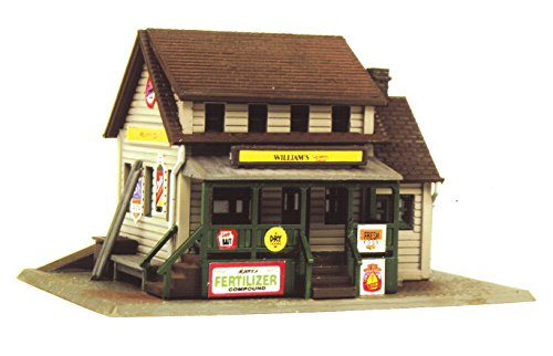 - Life-Like Trains  N Scale Building Kit -William's County Store