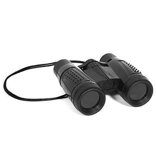 Toy Plastic Black Binoculars - Tourist Costume