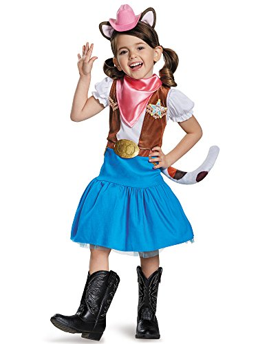 Disney Sheriff Callie Costume (Classic Sheriff Callie Disney Costume, Medium/3T-4T)